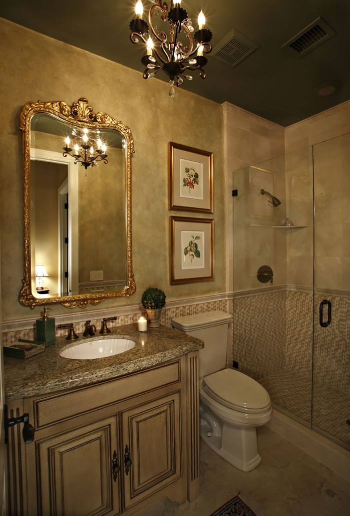 Powder Room - Colleen Pawling Interior Design