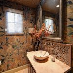 Colleen Pawling - Fabric Upholstered Powder Room
