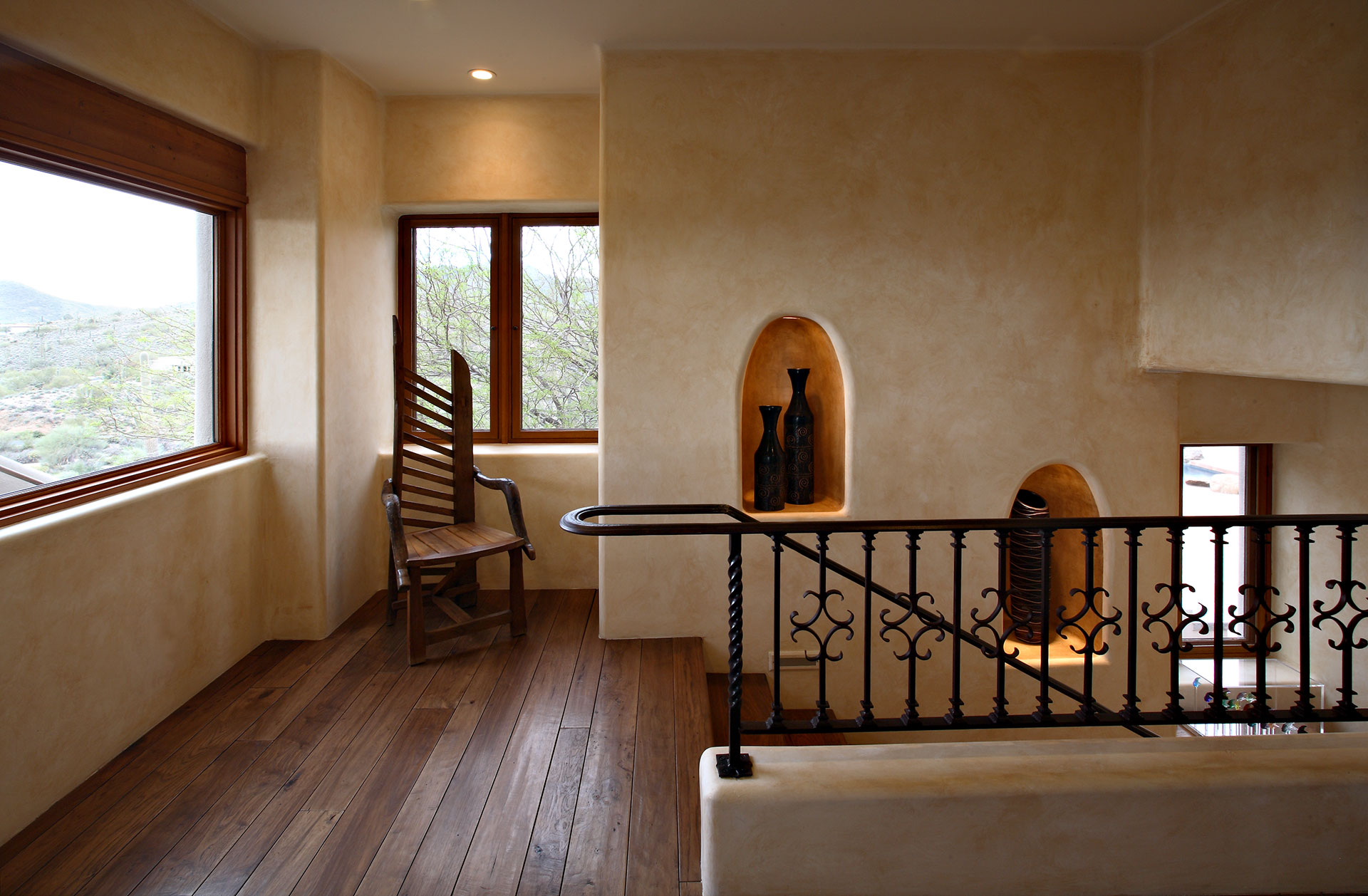 Colleen Pawling - Santa Fe Stairs